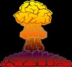 Nuclear Explosion clipart bomb blast