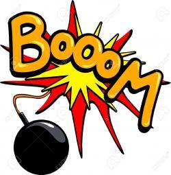 Boom clipart bomb