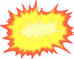 Explosions clipart cartoon