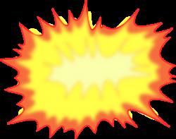 Explosions clipart cartoon
