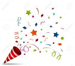 Celebration clipart confetti explosion