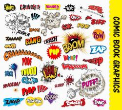 Comics clipart graphic novel