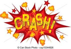 Explosions clipart crash