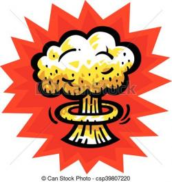 Explosions clipart fallout