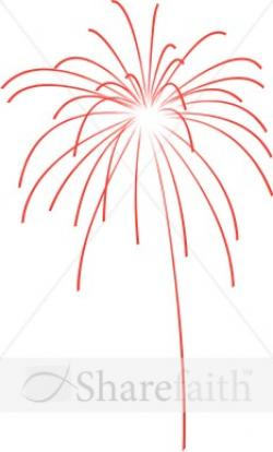 New Year clipart firework explosion