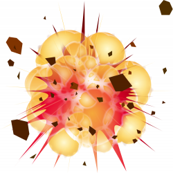 Explosions clipart icon