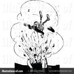 Explosions clipart illustration