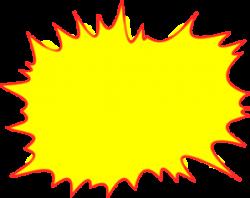 Explosions clipart lightning