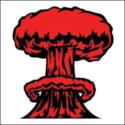Explosions clipart mushroom cloud