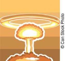 Nuclear Explosion clipart art