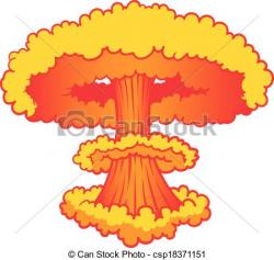 Explosions clipart nuke