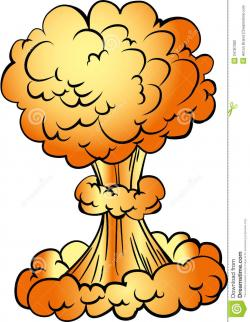 Nuclear Explosion clipart cartoon