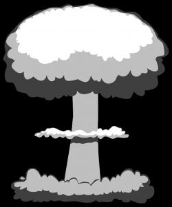 H-bomb clipart nuke