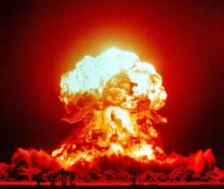 H-bomb clipart science explosion
