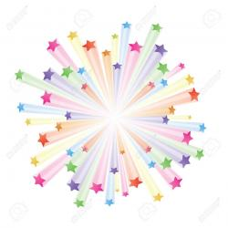 Explosions clipart star explosion