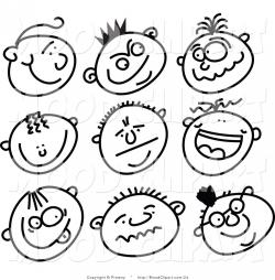 Mood clipart black and white