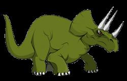 Stegosaurus clipart triceratop