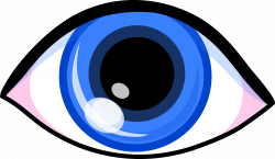 Drawn eyeball clipart