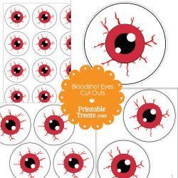 Eyeball clipart blood shot