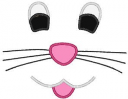 Eyeball clipart bunny