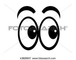 Covered clipart eye