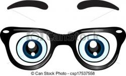 Spectacles clipart eyebrow