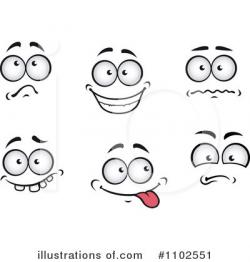 Expression clipart excited eye