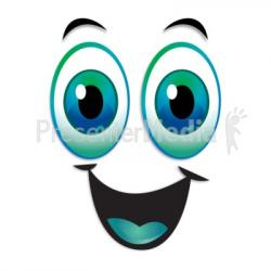Smile clipart excitement