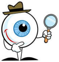 Eyeball clipart investigation