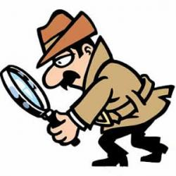 Mystery clipart detective