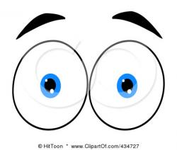 Eyeball clipart pair eye