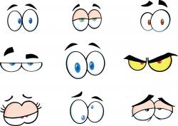 Eyeball clipart silly eyes