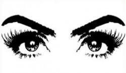 Eyelash clipart