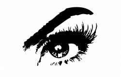 Eyelash clipart beautiful eye