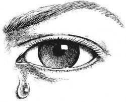 Eyelash clipart eye tear