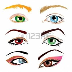 Eyeball clipart human nose