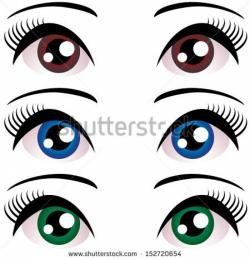 Eyelash clipart lady