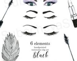 Eyelash clipart woman eye