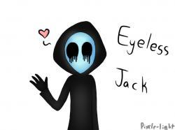 Eyeless Jack clipart adorable
