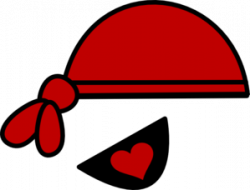 Pirate clipart eye patch