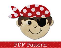 Eye-patch clipart captain hat