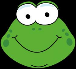 Bullfrog clipart frog face