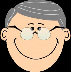 Brown clipart grandpa