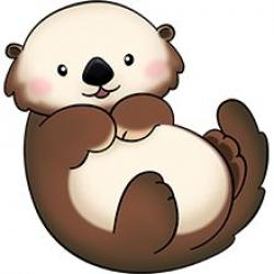 Nutria clipart baby otter