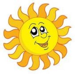 Sunbeam clipart sunshine