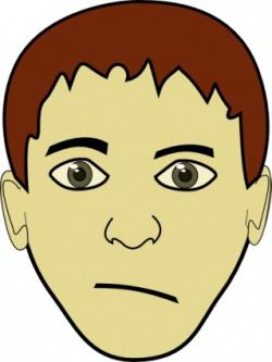 Face clipart teenager