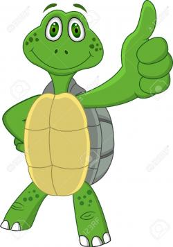 Tortoise clipart happy