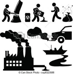 Factory clipart bad environment