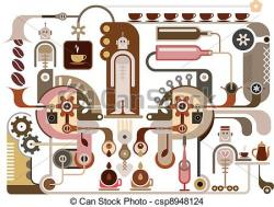 Factory clipart chocolate factory