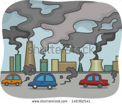Factory clipart city pollution